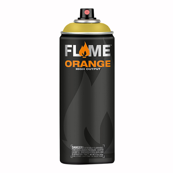 Cadmium Yellow High Output 400ml Flame Spray Paint