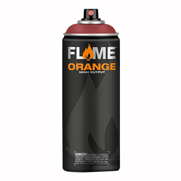Fire Red High Output 400ml Flame Spray Paint
