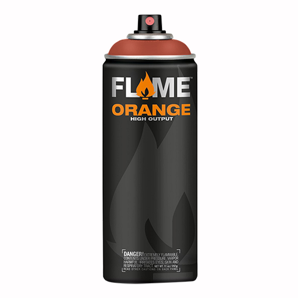 Red Orange High Output 400ml Flame Spray Paint