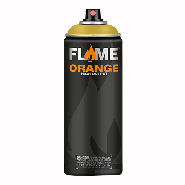 Signnal Yellow Output 400ml Flame Spray Paint