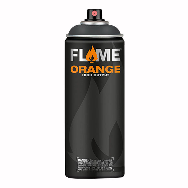 Anthracite Grey High Output 400ml Flame Spray Paint