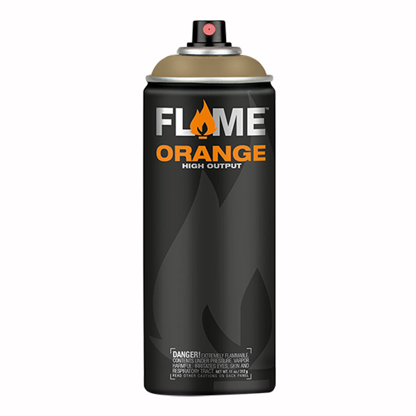 Beige Brown High Output 400ml Flame Spray Paint
