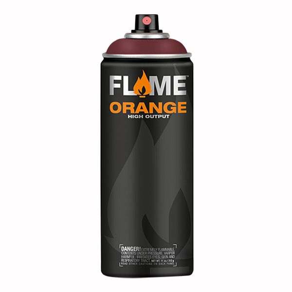 Brown Red High Output 400ml Flame Spray Paint