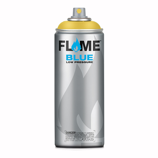 Signal Yellow Low Pressure 400ml Flame Spray Paint