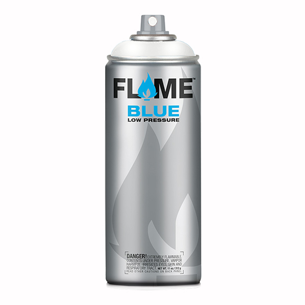 Transparent White Low Pressure 400ml Flame Spray Paint