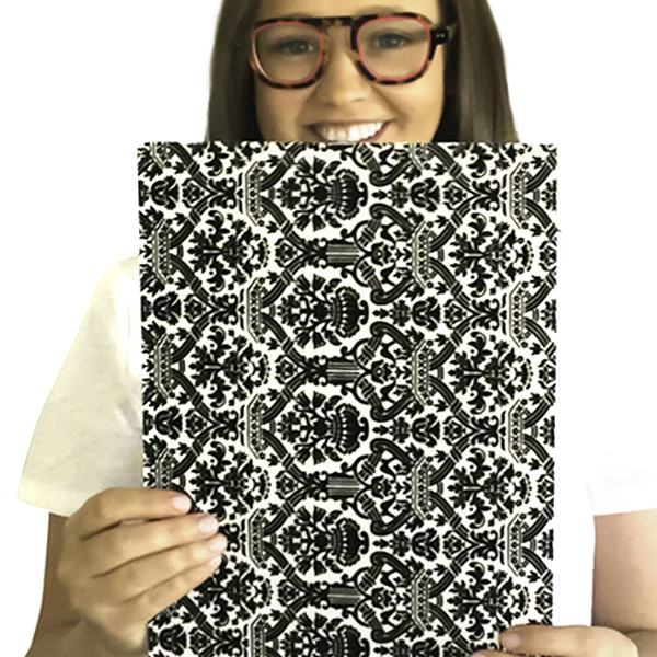 A4 Flocked Paper