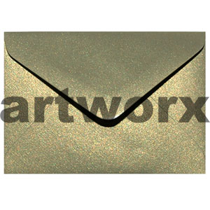 Gold Leaf Metallic 7x10cm Envelope