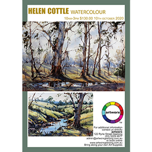 10th October 2020 Watercolour Landscapes with Helen Cottle