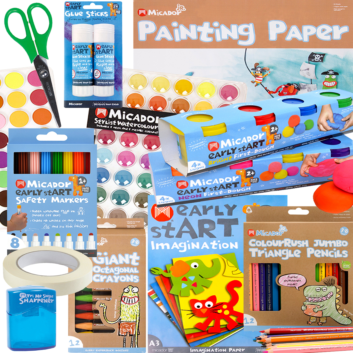 Kids Arts & Crafts Creative Pack - Free Shipping