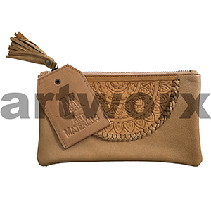 AMA Leather Pencil Case Dreamweaver Style Rich Tan