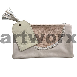 AMA Leather Pencil Case Dreamweaver Style Weathered Ecru
