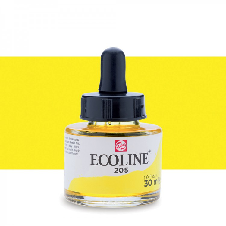Lemon Yellow Talens Ecoline Ink 30ml