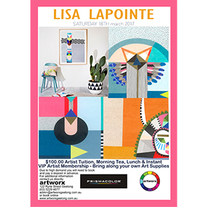 Drawing Workshop 18th March 2017 with artist Lisa Lapointe
