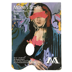 A4 Mona's Smile Paper Palette 40 sheets 60gsm