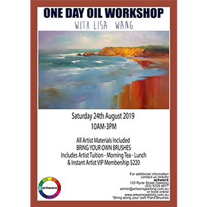 24th August Oil Seascape Workshop - All Artist Materials Included*
