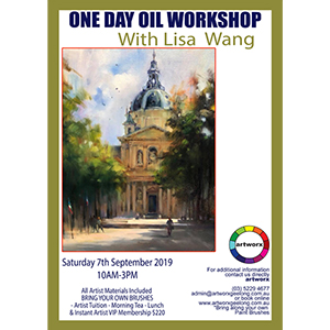 7th September Old World Oil Painting Workshop - All Artist Materials Included*