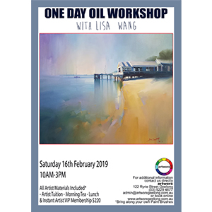 16th February Oil Seascape Workshop - All Artist Materials Included*