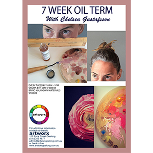 7 Week Term Oil Painting Classes