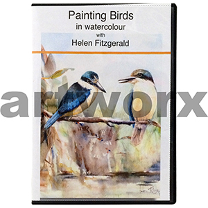 Painting Birds in Water Colour with Helen Fitzgerald DVD