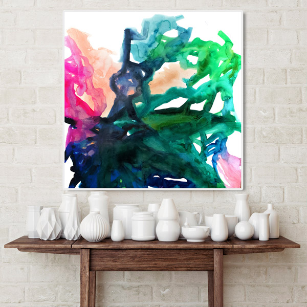 Palette 120x120cm Art Prints Limited Edition