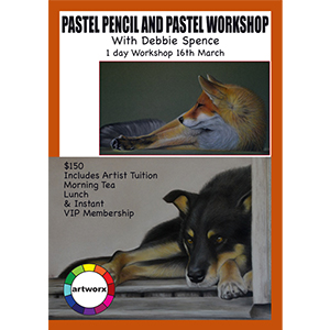 16th March Animal Pastel Workshop Pans & Pencils - All Artist Materials Included
