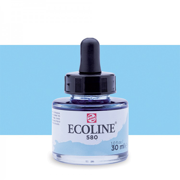 Pastel Blue Talens Ecoline Ink 30ml
