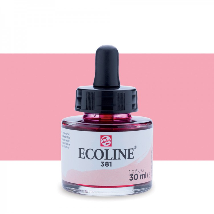 Pastel Red Ecoline Ink 30ml