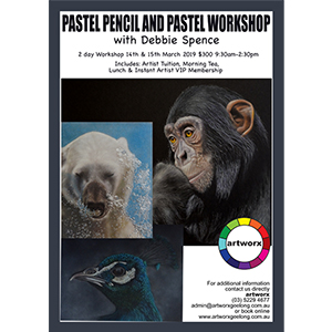 14th & 15th March Pastel Workshop Pans & Pencils