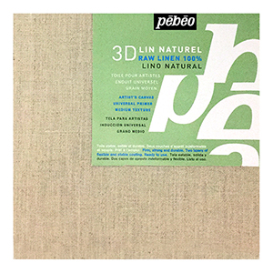 """20x20"""" Pebeo Stretched Linen Canvas"""