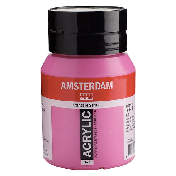 Permanent Red Violet 500ml Acrylic Amsterdam