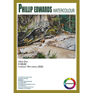 19th March 2020 Watercolour Landscapes with Phillip Edwards