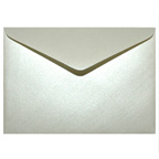 C6 Metallic Cream or Opal Envelope