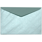 C6 Metallic Pearla Baby Blue Envelope