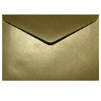 C6 Metallic Gold Envelope