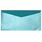 Pearla Turquoise DL Envelope