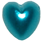 Pearl Heart Turquoise 7mm