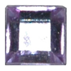 6mm Square Mauve Diamante Stones