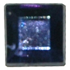 6mm Square Navy Diamante Stones