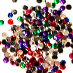 3mm 15gm Mixed Round Gem