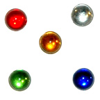 Mixed Colours Water Drops Gem