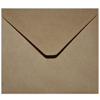 13x13cm Natural Recycled Kraft Envelope