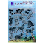 Exchangeable Clear Stamper Cats & Dogs