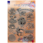 Exchangeable Clear Stamper Birthday