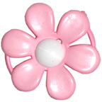 Embellishment Buckle Flower Pink