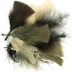 Natural Bag of Feathers 10gm