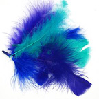 Blue Bag of Feathers 10gm