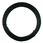 15m Soft Black Craft Wire