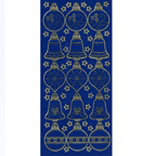 Blue Stickers Christmas Decorations 29-21