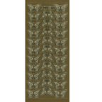 Gold Stickers Butterflies 199-01