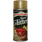Decorating Magic Spray Glitter 4oz Gold
